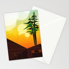 A View From the Best Seat in the Yard Stationery Cards