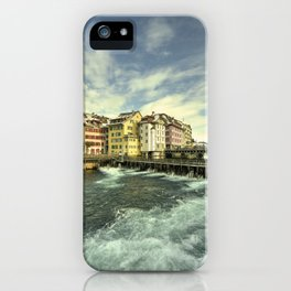 Weir of Lucerne iPhone Case