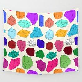 Gemstones Wall Tapestry