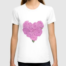 i heart roses T-shirt