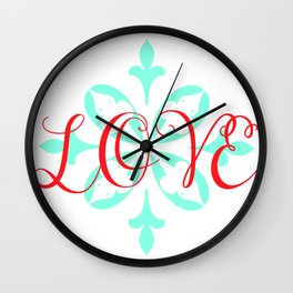 Beautiful Love Wall Clock