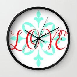 Beautiful Love Wall Clock