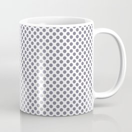 Smokey Topaz Polka Dots Coffee Mug