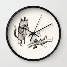 'Excessmas - Part 2' Wall Clock