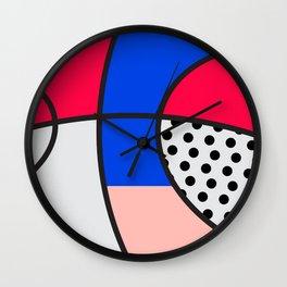 Minimal Basketball Hoop Wall Clock