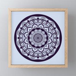 Mandala 006 Framed Mini Art Print
