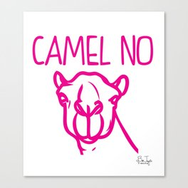 Camel No Canvas Print