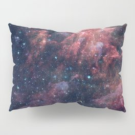 Nebula and Stars Pillow Sham