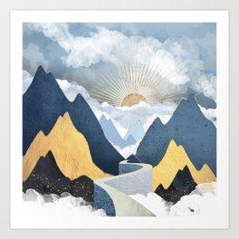 Bright Future II Art Print