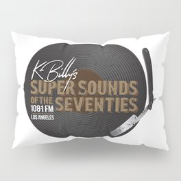 K - Billy´s Super Sounds of the Seventies Pillow Sham