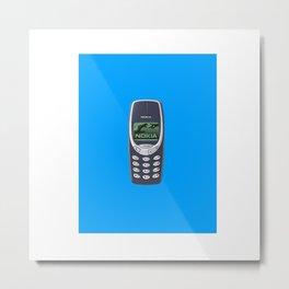 CELLPHONE Metal Print
