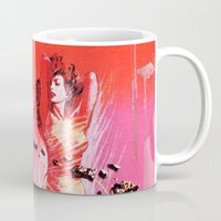 vonnegut Mugs featuring Vonnegut -  The Sirens of Titan by Neon Wildlife