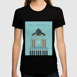 Eastern Columbia Building Los Angeles Art Deco T-shirt