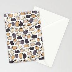 Pug Life Doodle Stationery Cards