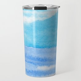 Bright Blue Day Travel Mug