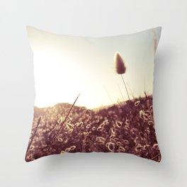 New Zealand Toitoi  Throw Pillow
