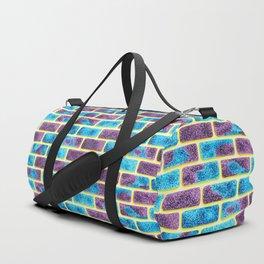 Unique Space bricks pattern Duffle Bag