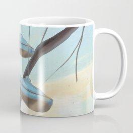 Spring Day, Shoes on Tree Coffee Mug