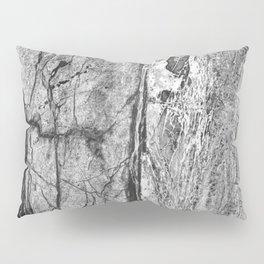 Grayscale Granite Pillow Sham