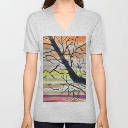 Hallowed Trees Unisex V-Neck