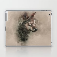 European Wolf Laptop & iPad Skin