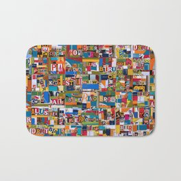 Beer by any Name Bath Mat