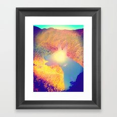 Feeling Sunny Framed Art Print