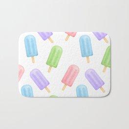 Popsicle Pattern Bath Mat