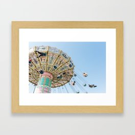 Wave Swinger Framed Art Print