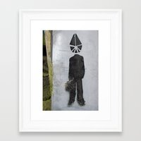 suit Framed Art Prints featuring Suit  by Ethna Gillespie