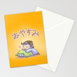 Oyasumi! (Good night!) Stationery Cards