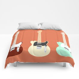 Flat Telecaster Comforters