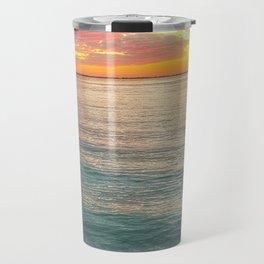 Kaleidoscope Sunset Travel Mug