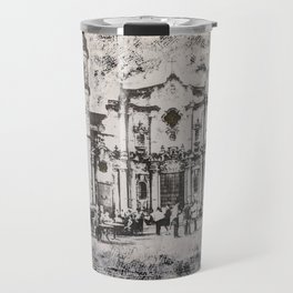 Havana Cathedral Travel Mug