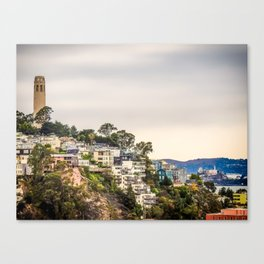 Telegraph Hill Canvas Print