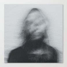 Vague Woman Canvas Print