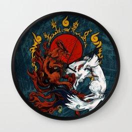 Kurama & Amaterasu Wall Clock