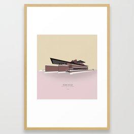 Robie House Frank Lloyd Wright Framed Art Print