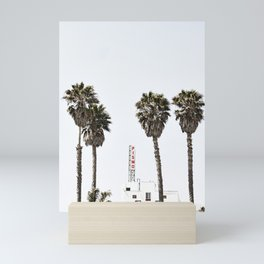 Pismo Beach Hotel Mini Art Print