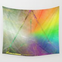 prism Wall Tapestries featuring Prism by Randomleafy