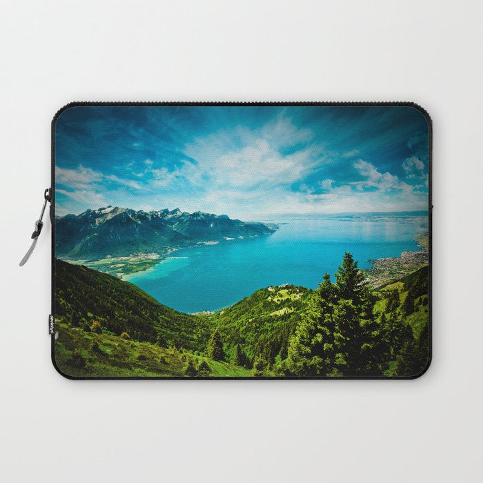 Lake Geneva Laptop Sleeve