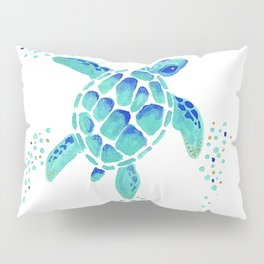 Neptune's Turtle Pillow Sham