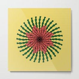coral flower Metal Print