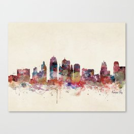 kansas city Missouri  Canvas Print