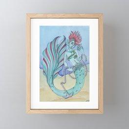 Salty Framed Mini Art Print