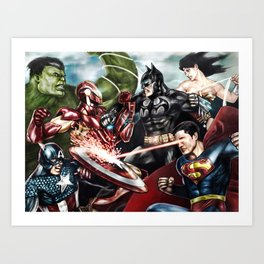 Super Crossover Art Print