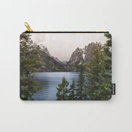 Grand Teton Wanderlust Lake Adventure - Nature Photography Carry-All Pouch