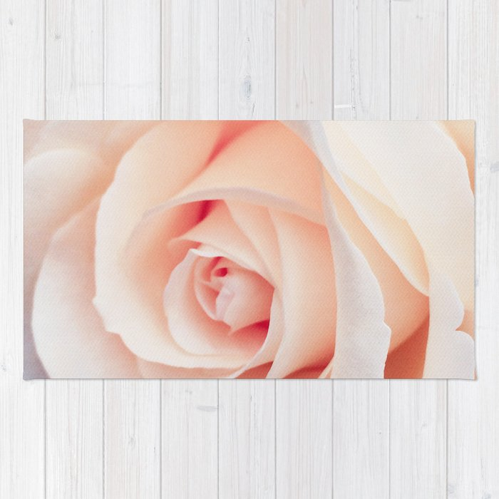 Rose | Flowers Photography | Spring | Blush Pink | Love Rug