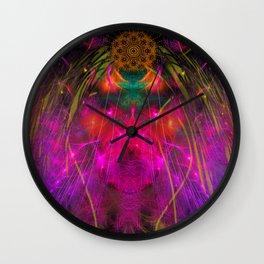 Abstract Angel Face Wall Clock