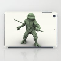 ninja turtle iPad Cases featuring ninja turtle by aterg88